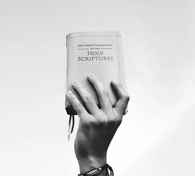 Showing Holy Book